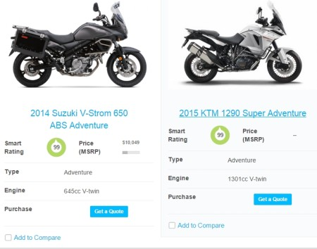 see bike specifications
