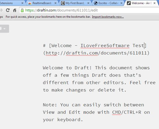 collaborative text editor extensions chrome 3