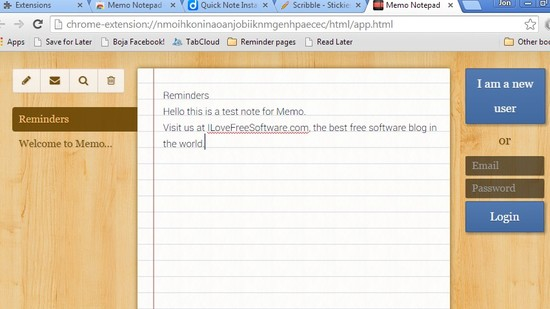 offline note taking extensions chrome 3