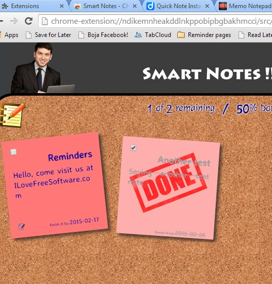 offline note taking extensions chrome 4