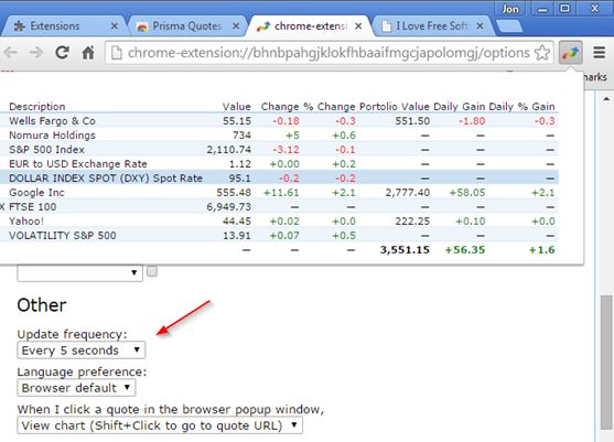 real time stock market info tracker extensions chrome 4