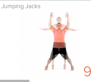 4 Minute Workout Exercise