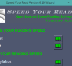 4 free software to increase or improve reading speed