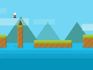 Avoid Obstacles in Mr Jump