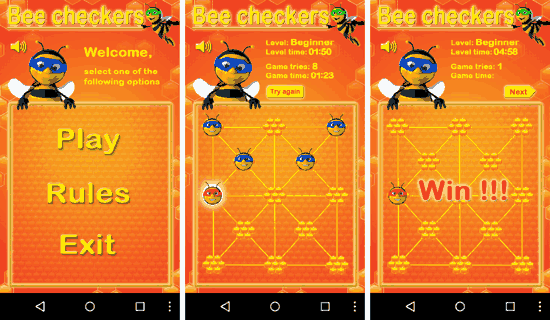 Bee Checkers for Android
