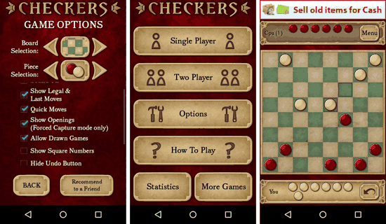 Checkers Free for Android