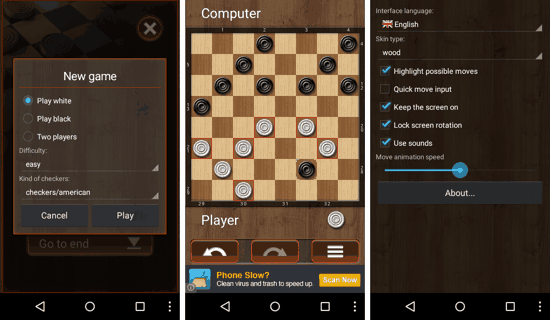 Checkersland for Android