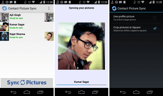 Contact Picture Sync