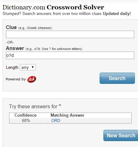 5 Free Crossword Solver Websites