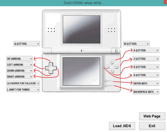 DuoS- interface