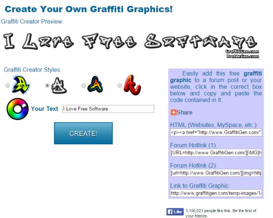 GraffitiGen