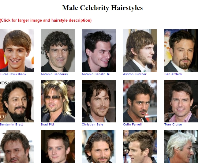 Male Haircut Simulator
