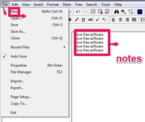 KeyNote NF adding nodes