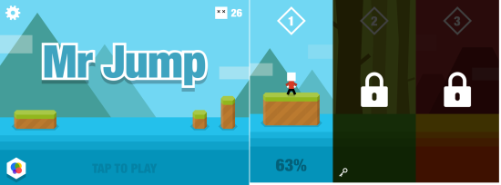 Mr Jump Homescreen