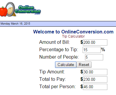 Online Conversion