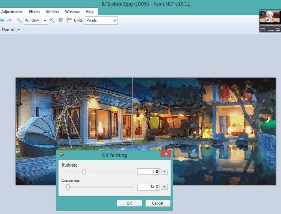 Paint.NET- interface