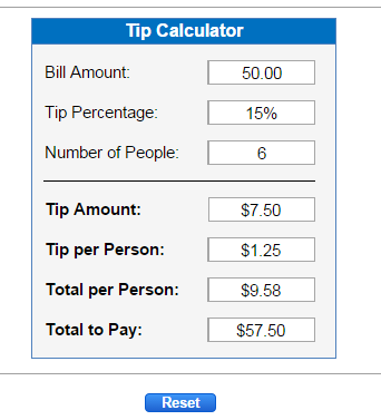 Percent Calculators