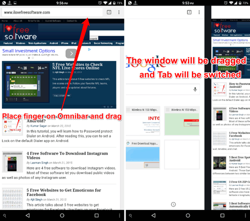 Switch Tabs in Chrome