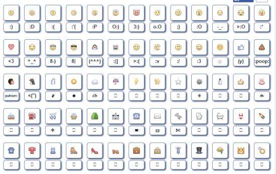 Symbols & Emoticons