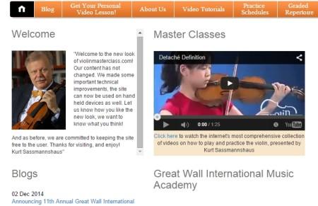 learn play violin online