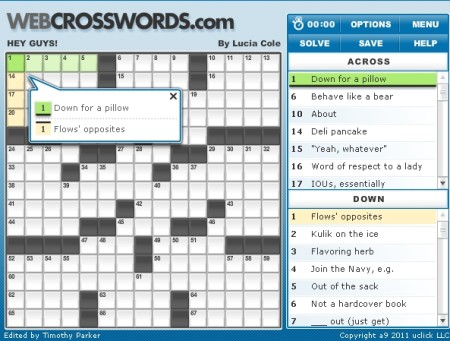 5 Free Websites To Play Crossword Puzzles Online