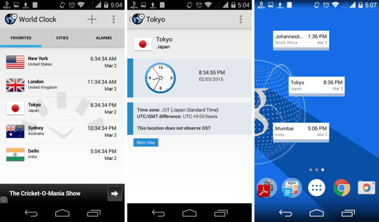World Clock for Android
