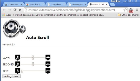 auto scroll extensions chrome 3