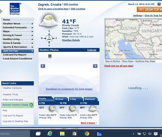 best weather software windows 10 2