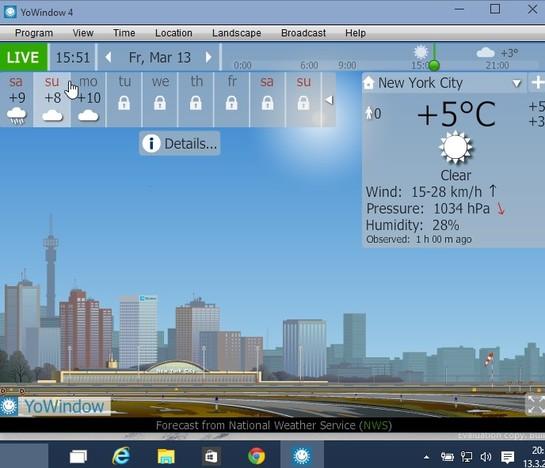 best weather software windows 10 3