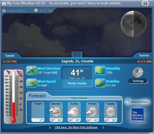 best weather software windows 10 4