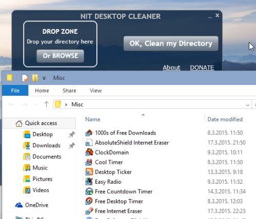 desktop cleanup software windows 10 2