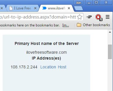 domain to ip converter extensions chrome 1