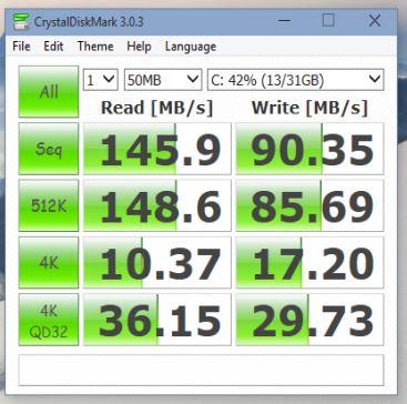 hard disk speed tester software windows 10 2