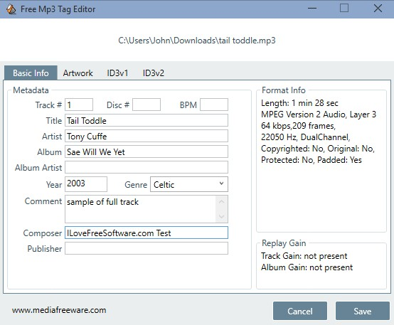 mp3 tag editor software windows 10 1