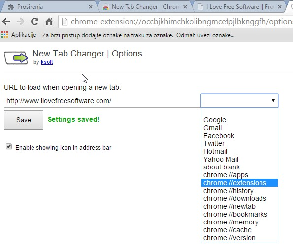 new tab redirect extensions chrome 4