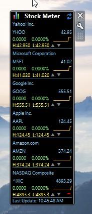 stock market ticker software windows 10 4