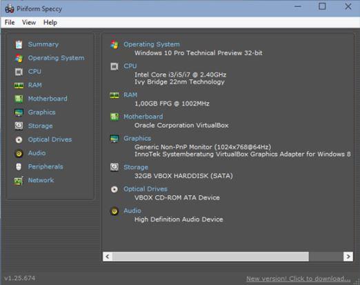 system info software windows 10