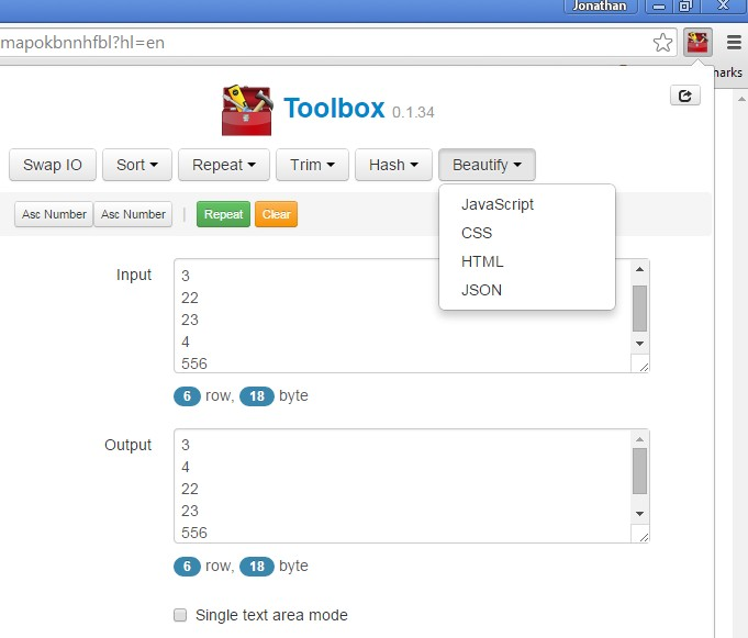 toolbox extensions chrome 1