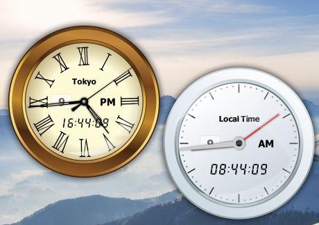 world clock software windows 10 2