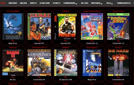 80s Top Games