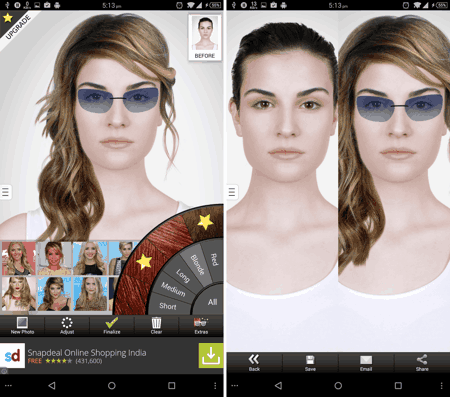 3 Best Free Android Apps To Try Different Hairstyles