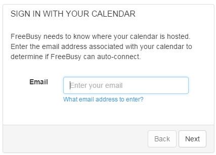 FreeBusy Connect Calendar