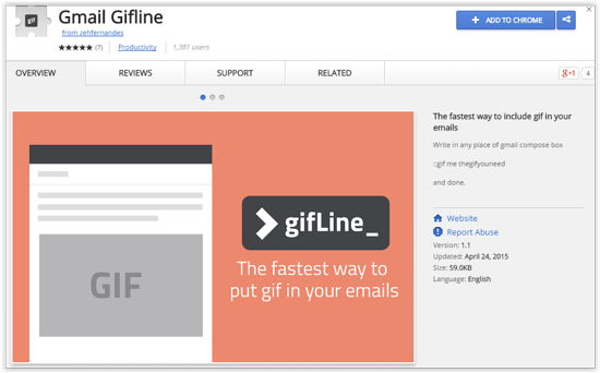 GifLine Extension Download