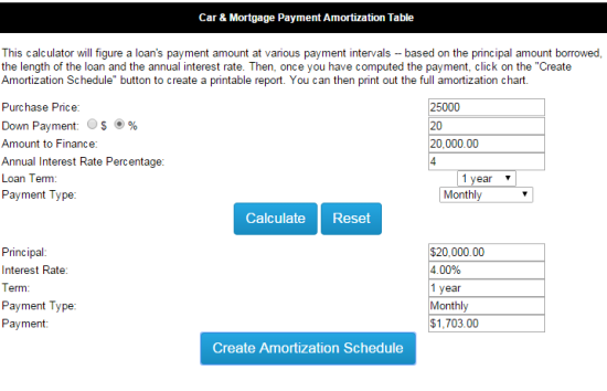 Mortgagae Calculator