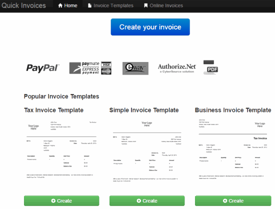 Quick Invoices