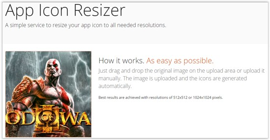 App Icon Resizer Main