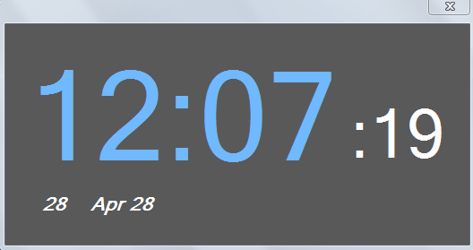 Micro Alarm Clock Main