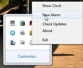 Micro Alarm Clock New Alarm
