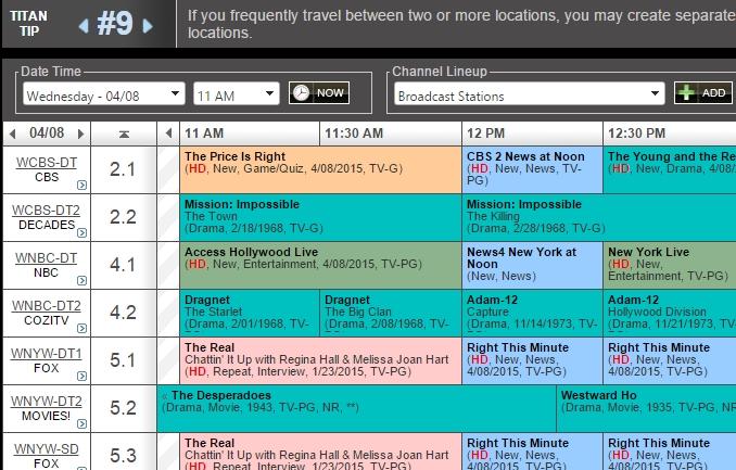 Tv Programme über Internet