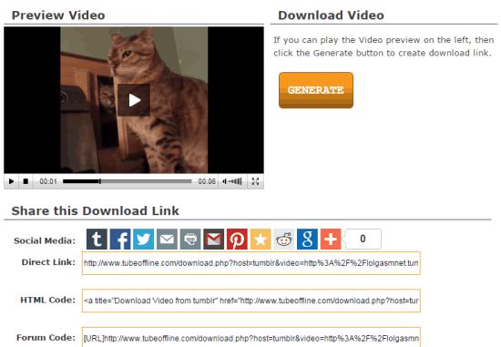 Tumblr Offline